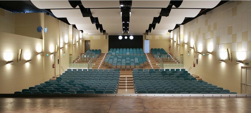 Il progetto cinema e teatro moderno fusignano ra for Progetti moderni